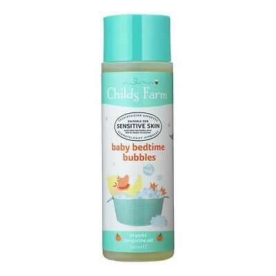 Childs Farm Baby Bedtime Bubbles, 250 ml, Organic Tangerine x 1