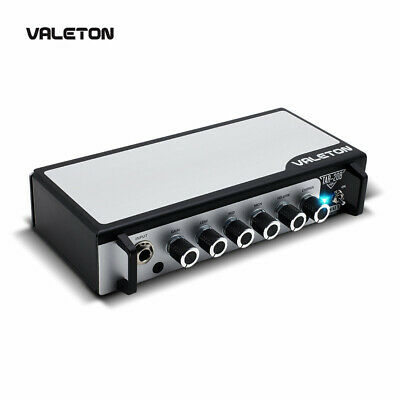 Valeton Bass Guitar Amp with Chorus Distortion Overdrive Asphalt Pedal TAR-20B