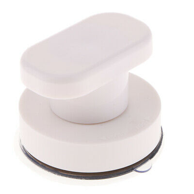 Strong Suction Cup Cabinet Handle Glass Door Pull Window Drawer Knob, White