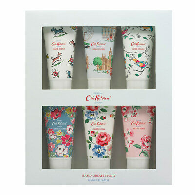 Cath Kidston Set of 6 Hand Creams Gift Box Hand Cream Story