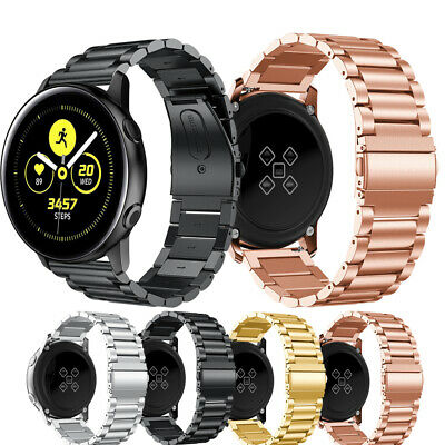 For Samsung Galaxy Watch Active Strap Stainless Steel Watch Band