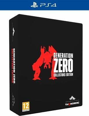 Generation Zero collectors edition - (PS4) BRAND NEW SEALED