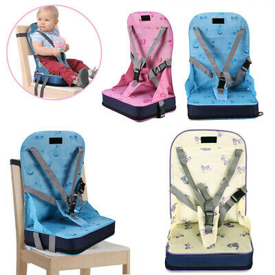Baby Highchair Infant High Feeding Seat Toddler Table Chair Foldable UK Stock