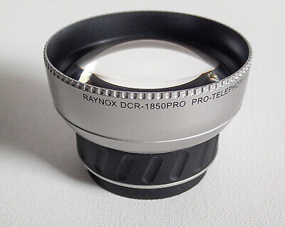 Raynox DCR-1850 Pro Telephoto Conversion Lens