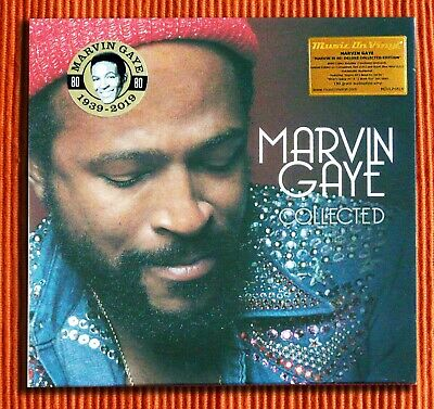 MARVIN GAYE - COLLECTED   180g Red - Blue Coloured Vinyl 2LP Deluxe Ltd SEALED