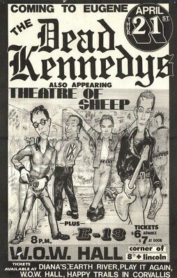 THE DEAD KENNEDYS VINTAGE BAND ALTERNATIVE ROCK CONCERT MUSIC POSTERS A4 300gsm