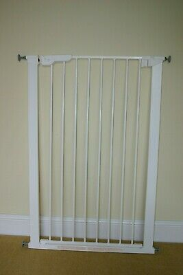 Pet Gate Extra Tall with tools, extensions and instructions
