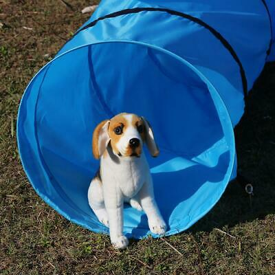 """16"""" Agility Training Tunnel Pet Dog Play Outdoor Exercise Equipment w/ Carry Bag"""