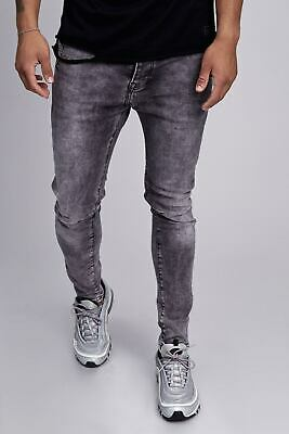 78cf7ffea30c6 Herren Jeans Skinny Fit Stretch Hose Grau Männer Men Jogg Denim Grey John  Kayna