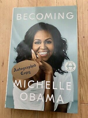 L@@k Signed FIRST EDITION Michelle Obama BECOMING Brand New