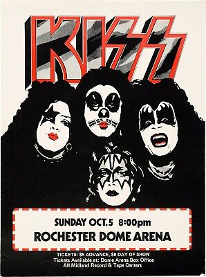 KISS VINTAGE BEST BAND ALTERNATIVE ROCK CONCERT MUSIC POSTERS A4 300gsm
