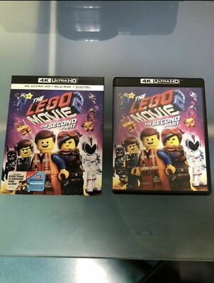The LEGO Movie 2: The Second Part 4K Ultra HD Blu-Ray Disc Slip Cover NO Digital