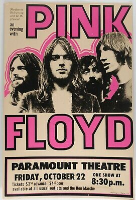 PINK FLOYD V2 VINTAGE BEST BAND ALTERNATIVE ROCK CONCERT MUSIC POSTERS A4 300gsm