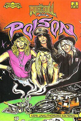 POISON VINTAGE BEST BAND ALTERNATIVE ROCK CONCERT MUSIC