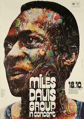 MILES DAVIS VINTAGE BEST BAND ALTERNATIVE ROCK CONCERT MUSIC POSTERS A3 300gsm