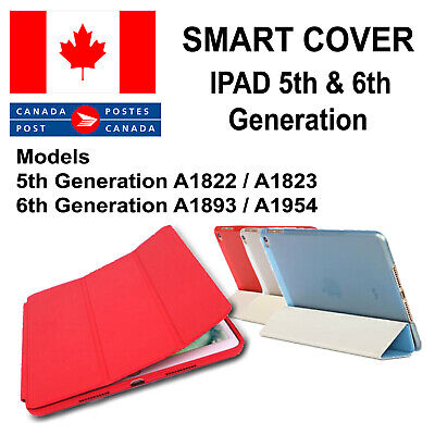 IPAD 9.7 5th and 6th Generation Case Magnetic Smart Cover Leather