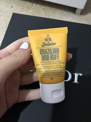 SOL DE JANEIRO Brazilian Bod Buff Smoothing Scrub 'N Mask 50ml New Sealed