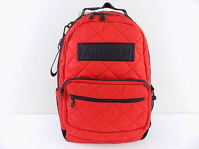 a881d0d8c89 STEVE MADDEN NEW Silver Austin Metallic Quilted Laptop Backpack $98 ...