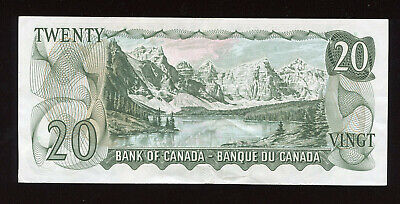1969 Bank of Canada $20 Replacement Banknote - Cat#50aA - S/N: *EA1439563