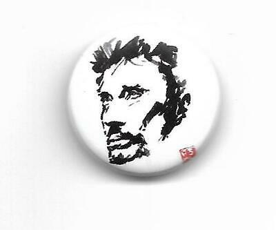 "Johnny Hallyday "" Badge """