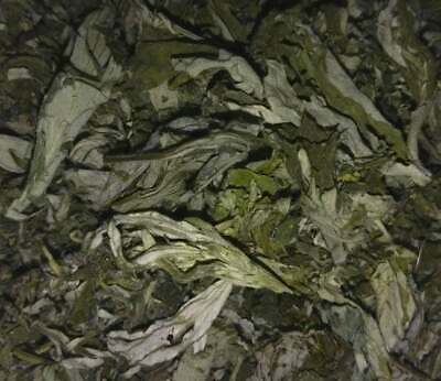 Organic Mugwort Dried Leaves - Artemisia argyi - Wicca Apothecary Smoke Herb