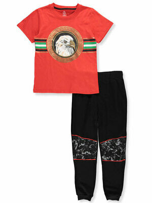 S1ope Boys' 2-Piece Pants Set Outfit