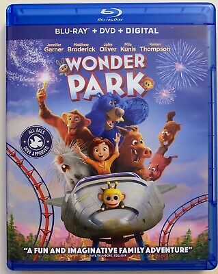 Wonder Park Blu Ray 1 Disc Only Free World Wide Shipping Buy It Now Animated