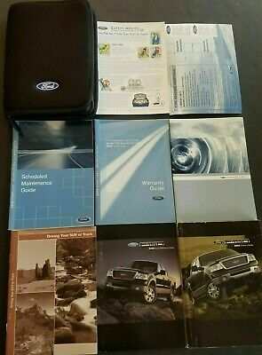 2006 Ford F150 F 150 Owners Manual Books Set Xlt Lariat King