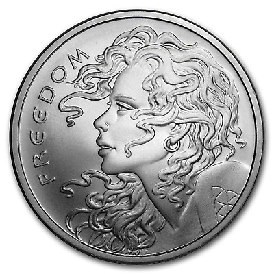 2019 1 oz Silver Shield Round - Freedom Girl - SKU#185282