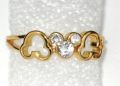 e7cf28611 Disney Arribas Bros✿ Mickey Mouse Ring Size 6 Made with Crystals from  Swarovski