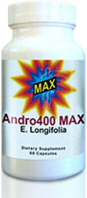Andro400 Max - 3 Bottles **90 Day Supply** Manufacture Direct - Free Shipping