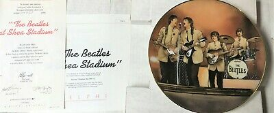 In Box The Beatles at Shea Stadium Bradford Limited Plate Numbered 1992