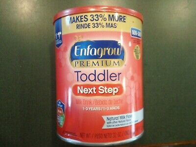 Enfagrow Premium Toddler Next Step, Natural Milk Flavor - Powder Can - 32 oz