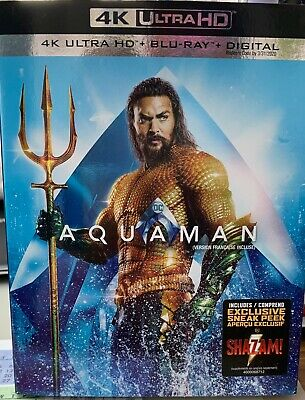 Aquaman (Blu Ray Disc, 2019; 4K Ultra HD)