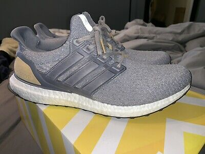 ADIDAS ULTRA BOOST 3.0 LTD Size 11 Mid Grey Leather Cage