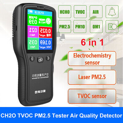 Household Digital PM2.5 CH2O TVOC Formaldehyde Tester Monitor Gas Analyzer Car