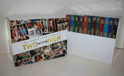 Two and a Half Men: The Complete Series Season 1-12 (DVD 39-Disc Box Set) Sealed