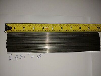 """Straight Wire Spinner Shafts 6/"""" Stainless Steel .035/"""" 50pk FREE Shipping!"""