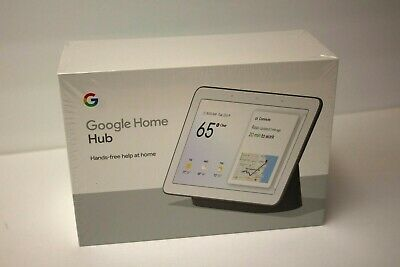 Google Home Hub with Google Assistant - GA00515-US (New in Unopened Box)