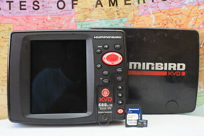 VINTAGE TOM MANN Humminbird Fish Finder & Accs  - $95 99