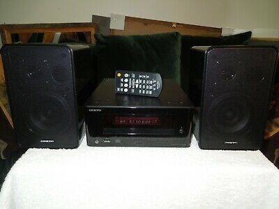 Onkyo CR-245BT HiFi Receiver + CD Player + D-T05 Speakers +Remote +Owners Manual