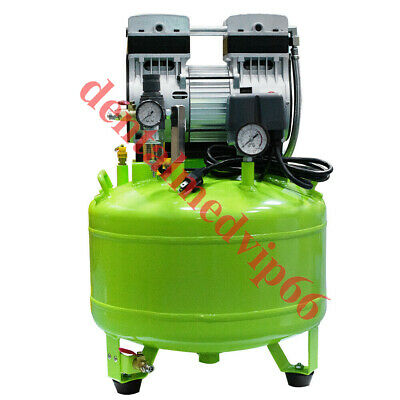 800W 40L PORTABLE dental Medical Noiseless silent Oilless Air Compressor + GIFT