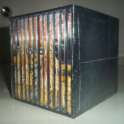 GBR Iron Maiden 15CD Complete 12 Albums Heavy Metal Box Set Factory New Sealed