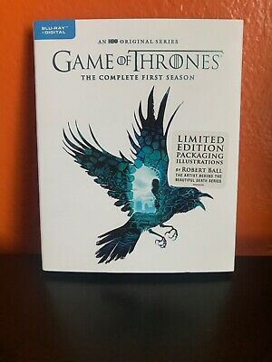 Game of Thrones: The Complete First Season Limited Edition Blu-Ray + Digital NEW