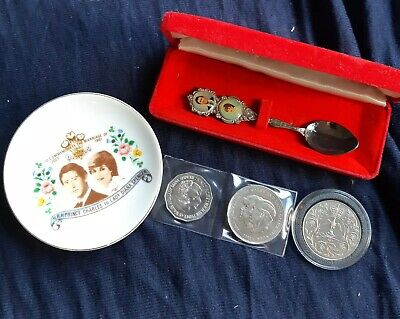 1981 charles and diana coins and more