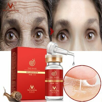 Snail Essence Hyaluronic Acid Liquid Whitening Shrink Pores Ampoule Anti-acne