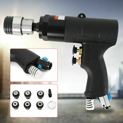 Handheld Pneumatic tapper 400rpm tapping machine auto hand tool 6pcs Chuck Tool
