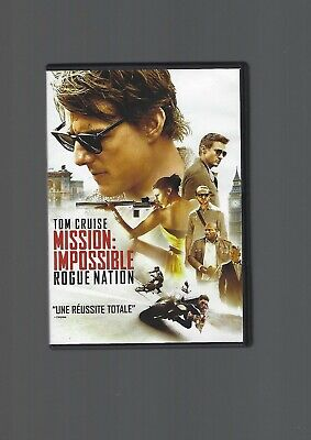Dvd-Mission Impossible-Rogue Nation-Tom Cruise-Christopher Mc Quarrie