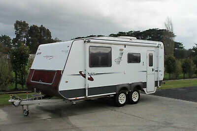 Avan Semi Offroad Caravan, 2008 Model with Shower & Toilet, Vic Rego