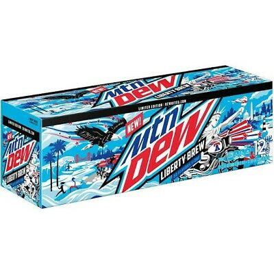 Mountain Dew Liberty Brew - 12-pack/12 fl oz Cans